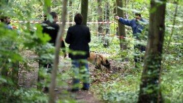 Полиция-лес-тело