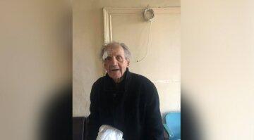 У Дніпрі шукають родичів літнього чоловіка: у нього повна амнезія, потрібна допомога