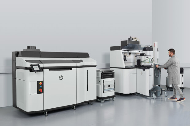 В Украине появилась уникальная линия 3D-печати HP Jet Fusion 5210