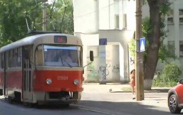 проїзд, транспорт, трамвай, літо, скрін