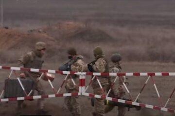 ЗСУ, розведення військ, Донбас, скрін