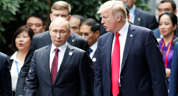 Дональд Трамп и Путин