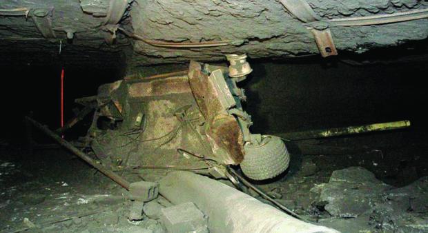 830 шахта обвал