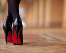 девушка каблуки