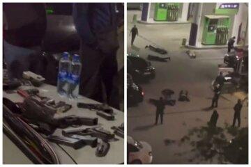В Крыму раздались выстрелы, с оружием десятки людей: фото и видео с места