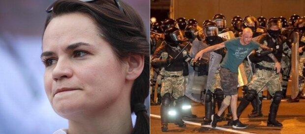 тихановская, протест
