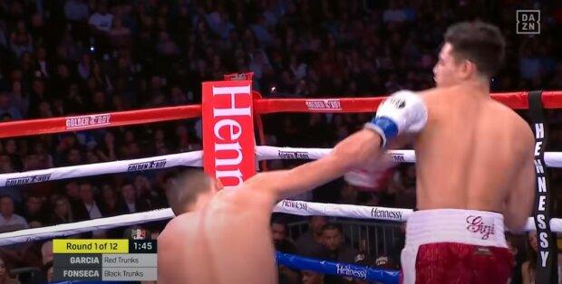Боксер у вазі Ломаченка феєрично поклав суперника: вистачило одного удару, відео