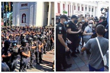 Марш равенства в Одессе поставил на ноги полицию и Нацгвардию, есть пострадавшие: кадры замеса