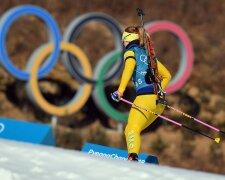 олимпиада биатлон