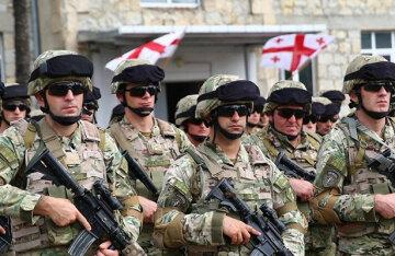 Грузия-военные
