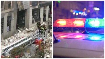 Мощный взрыв прогремел в центре столицы, много раненых: первые подробности и кадры с места трагедии