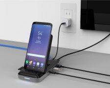 беспроводные зарядки, смартфон