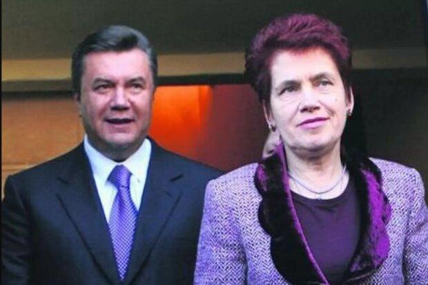 виктор янукович с женой, людмила янукович