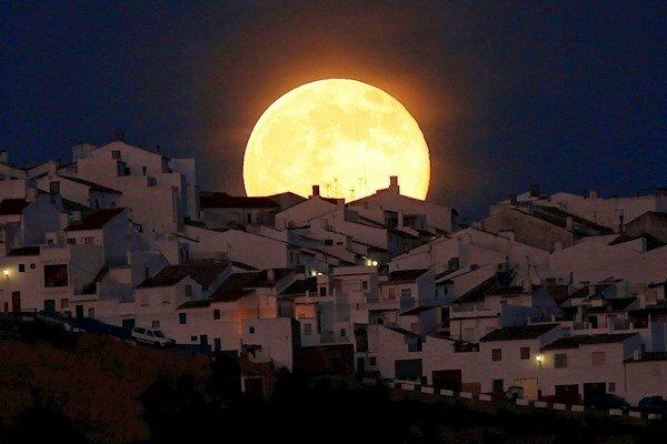 суперлуние, луна, полнолуние