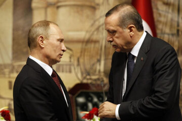 Владимир Путин и Эрдоган