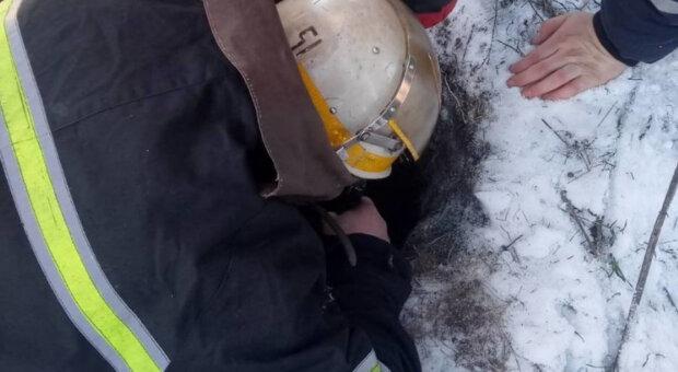 Семирічна дитина провалилась у свердловину під Дніпром, на порятунок кинули всі сили: кадри НП
