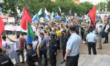 Хабаровськ, протести