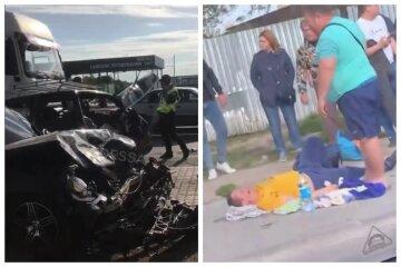Масова ДТП на під'їзді до Одеси: з'явилися кадри страшної аварії