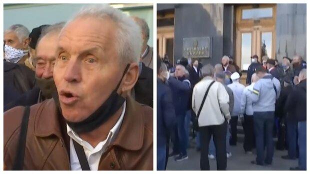 """Пенсионный бунт разгорается в столице, кому урезали выплаты: """"Если нас не услышат..."""", фото"""