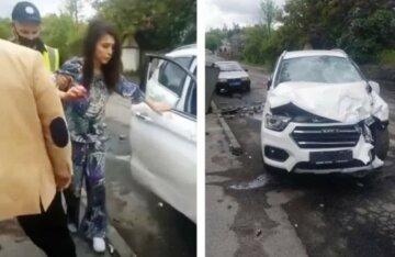 """П'яна """"мажорка"""" на швидкості збила дитину, фото: """"Спокійно йшов по тротуару"""""""