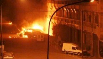 протест, пожар, беспорядки, столкновения