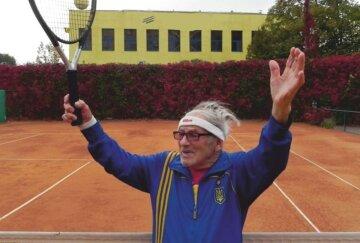 """97-річний українець став найкращим тенісистом і побив рекорд: """"Послужив прикладом для всього світу"""""""