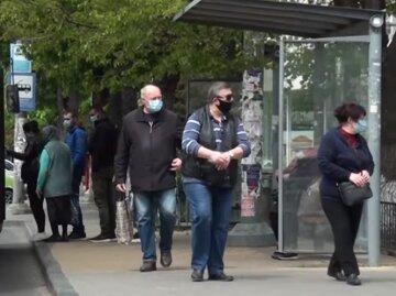 люди, українці, маска