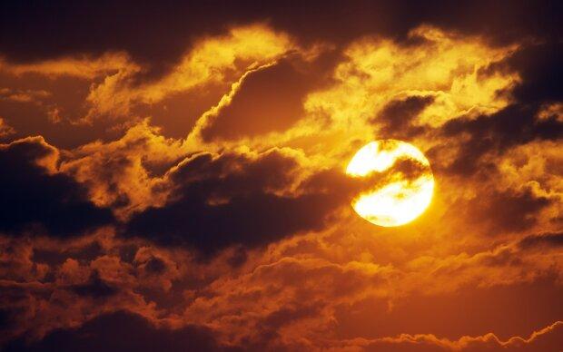 тучи, солнце, погода