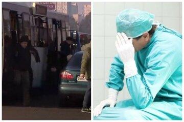 «Місць немає»: лікарів цинічно випихають з транспорту, ніякі документи не допомагають