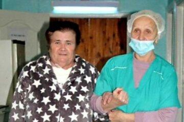 """Вирус обрек пожилую украинку на страдания, но врачам удалось невероятное: """"Несколько недель отчаянно..."""""""