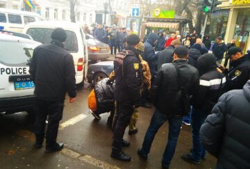 Стрельба и массовая драка в Одессе: в эпицентре оказался любитель Сталина, фото