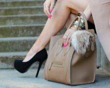 туфли, сумка, девушка