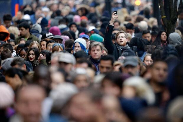 люди, толпа