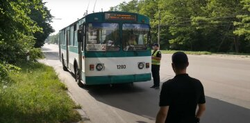 транспорт автобус карантин поліція
