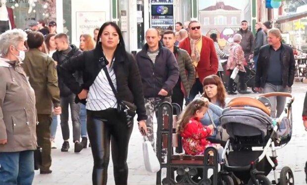 пенсии, зарплаты, украинцы, скрин