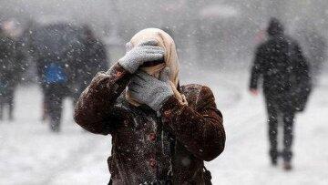 снег зима погода ветер