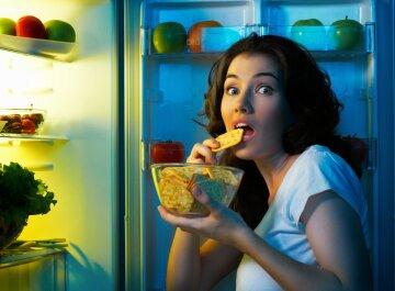 холодильник, голод, еда