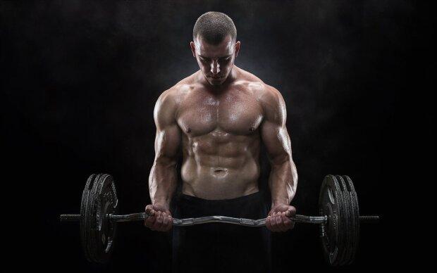 штангіст, штанга, важка атлетика, спорт, рекорд, олімпійські ігри,