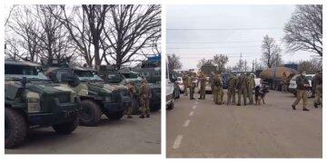 Военную технику и бойцов и СБУ стянули под Харьков: кадры и подробности происходящего