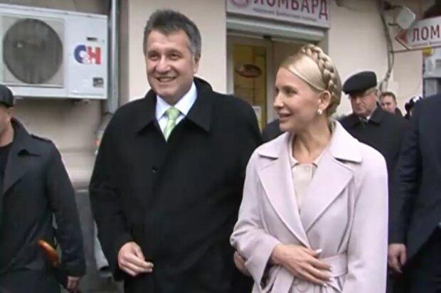 Арсен Аваков, Юлия Тимошенко