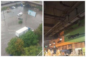 Мощный ливень обрушился на Одессу, затоплены магазины и дома: кадры потопа