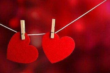 Сердечка и оригами ко Дню святого Валентина
