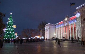Елка в Одессе