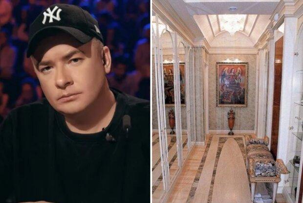 """""""Ужасная и безвкусная"""": у Данилко нашли огромную квартиру на Крещатике, артист отреагировал"""