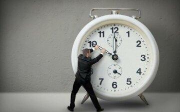 перевод часов,