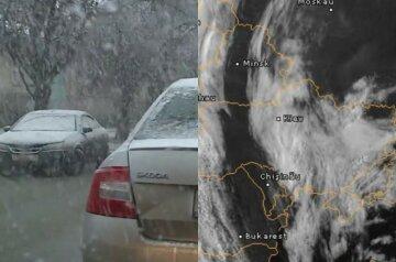 Різке погіршення погоди в Україні: де чекати снігу та похолодання