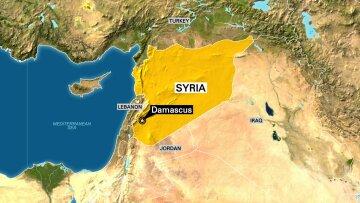 Damascus, Syria Map