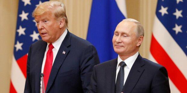 Путин вытесняет Трампа
