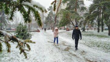 зима погода Люди сніг холод мороз