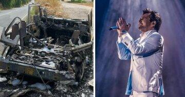 """Авто, в якому їхав екс-соліст Modern Talking з сином, повністю згоріло: """"Відмовила педаль і…"""""""